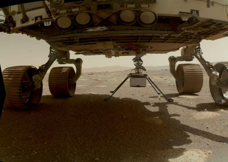 Voo de helicóptero da Nasa em Marte pode acontecer já nesta segunda-feira