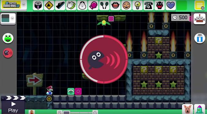 'Super Mario Maker' lets you record custom sounds in Mario levels