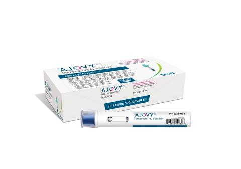 Teva Canada announces a new autoinjector for AJOVY® for the preventive treatment of migraine in adults