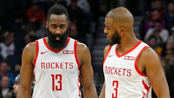 Harden, CP3 had 'verbal exchange' after ouster
