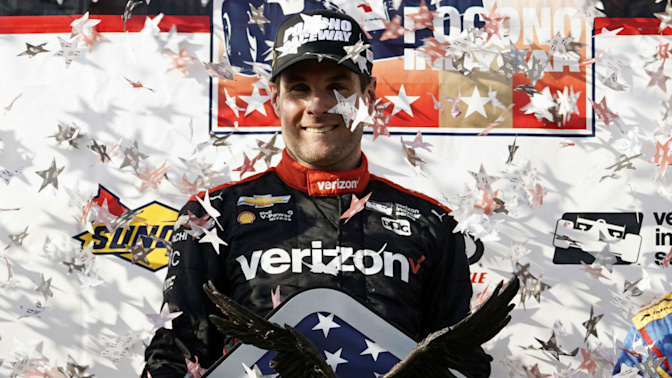 Power overcomes adversity to win Pocono thriller
