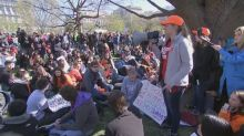 Student walkouts take place in U.S. high schools