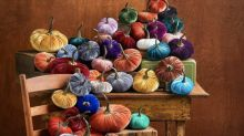 Amazon's Best-Selling Velvet Pumpkin Sets Are Back in Stock and They're All So Gorgeous