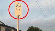 'Makes no sense': Melbourne parking sign baffles motorists