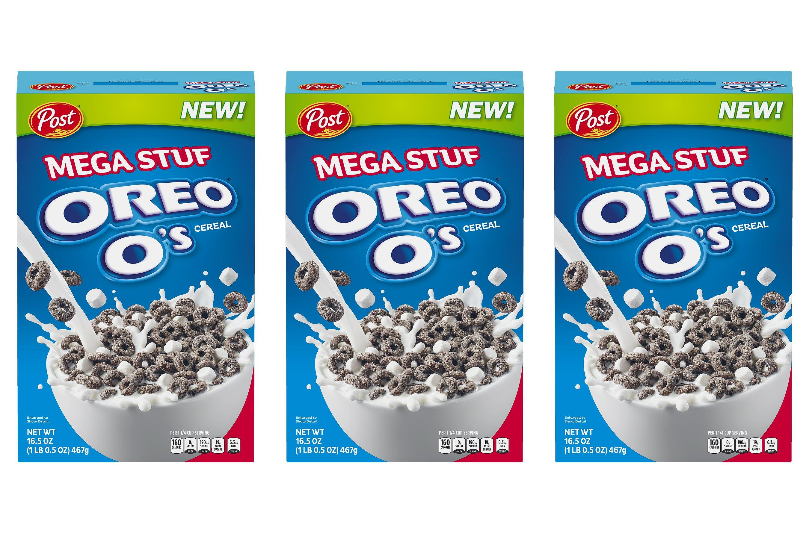 021dce585e86 There's a New 'Mega Stuf' Version of Oreo O's Cereal and It's Filled with  Marshmallows