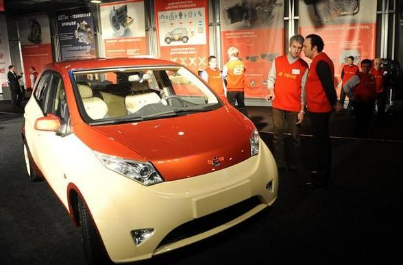 Russian Yo hybrid said to offer 67mpg, cost under $15k, gets a billionaire's backing