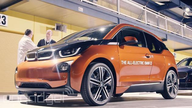 Hands-on with BMW's self-parking i3