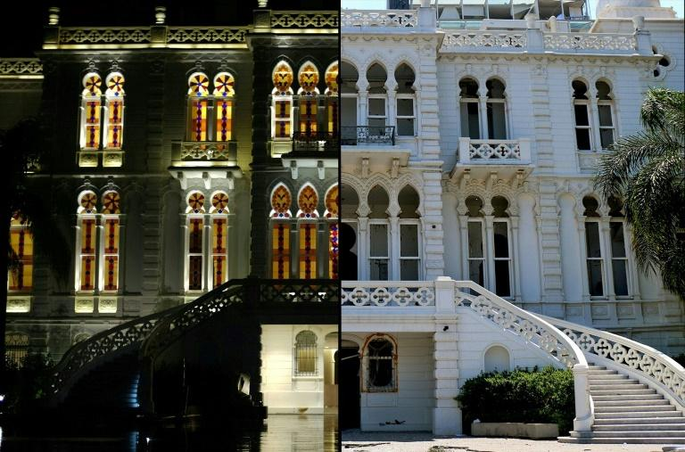 The Sursock Museum, which only a few months ago was housing a landmark Picasso exhibition, now tells the story of a city's demise