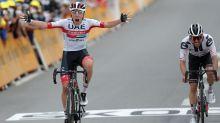 Adam Yates yields yellow jersey to Primoz Roglic as Tadej Pogacar wins stage