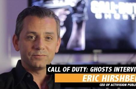 Activision Publishing CEO on Call of Duty: Ghosts investment, pre-order pacing and death threats