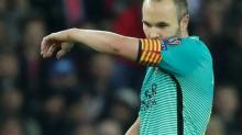 Foot - ESP - Barça - FC Barcelone : Andres Iniesta forfait contre l'Espanyol
