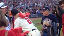 Braves cap first homestand with another strong crowd