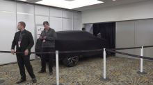 The Latest: Infiniti electric concept car makes debut