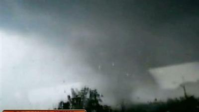 Student's Video Captures Tornado