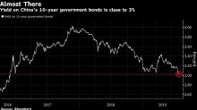 China's Lowest Bond Yields Since 2016 Look Really Juicy to Some