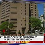20 MCC employees subpoenaed in Jeffrey Epstein suicide probe