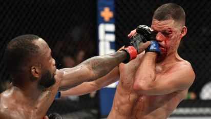 Even in a loss, Nate Diaz puts on a show