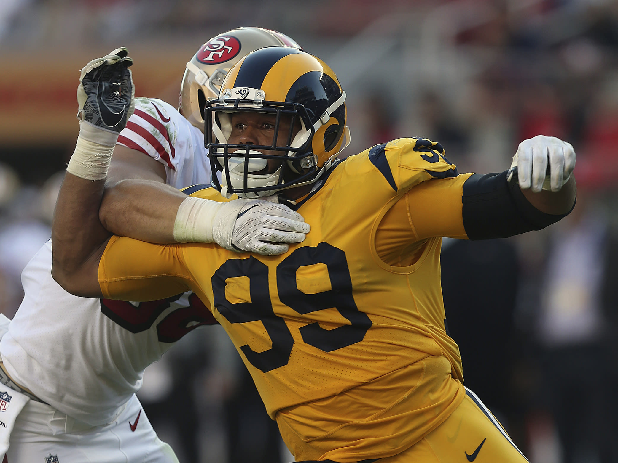 ba640c81de5 If you redrafted the entire NFL, it's no surprise where Aaron Donald would  go