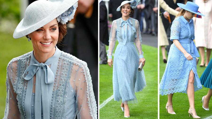 Herzogin Kate im Style-Duell mit Prinzessin Beatrice