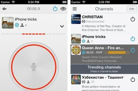 Daily iPhone App: Zello lets you chat walkie-talkie style with friends, co-workers