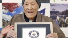 'Loss of big figure': World's oldest man dies aged 113