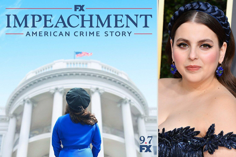 First Impeachment: American Crime Story Poster Teases Beanie Feldstein as  Monica Lewinsky
