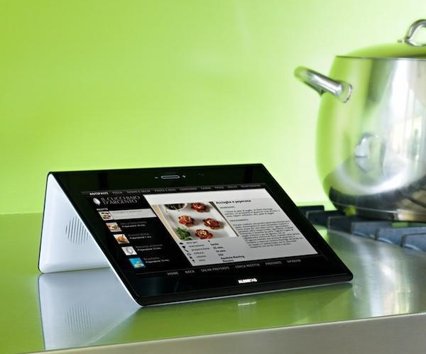 Android-based AlessiTab home tablet gets November release, higher price