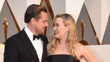 Leonardo DiCaprio y Kate Winslet subastan una cena juntos