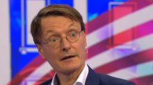 """Gesundheitsexperte Lauterbach: Trump ist """"noch nicht über den Berg"""""""