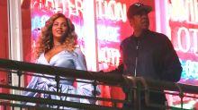 Vistos en público Beyoncé y Jay-Z tras recibir gemelos