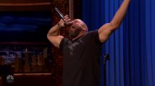 WWE superstars tag-team a Lip Sync Battle on 'The Tonight Show'