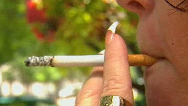 CDC study: 100,000 smokers quit because of graphics ads