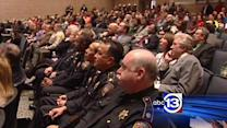 Hundreds pack into HCSO's school safety meeting