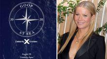 Gwyneth Paltrow has announced a $10K Goop wellness cruise