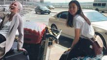 機場時尚加分重點!女星出門旅行行李箱檢閱