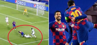 Disbelief over 'impossible' Lionel Messi goal