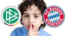 Schweige-Gelübte zwischen dem FCB und DFB
