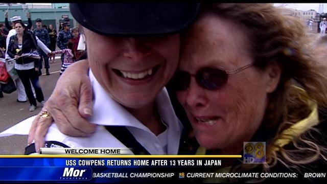 USS Cowpens returns home after 13 years in Japan