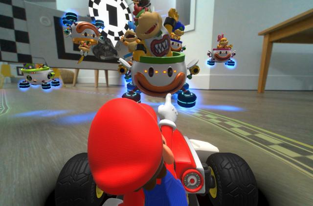 We now know a lot more about 'Mario Kart Live: Home Circuit'