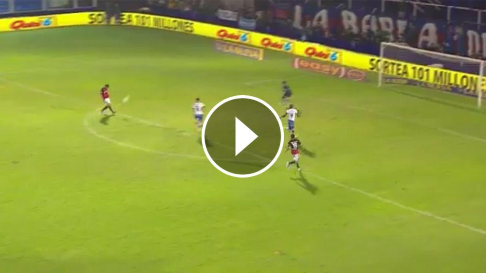 VIDEO: ¡Maravilloso! Golazo de Blandi ante Tigre