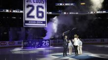 Martin St. Louis gets his No. 26 retired by Tampa Bay Lightning (Video)
