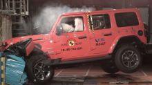 2018 Jeep Wrangler scores 1 star in European crash tests