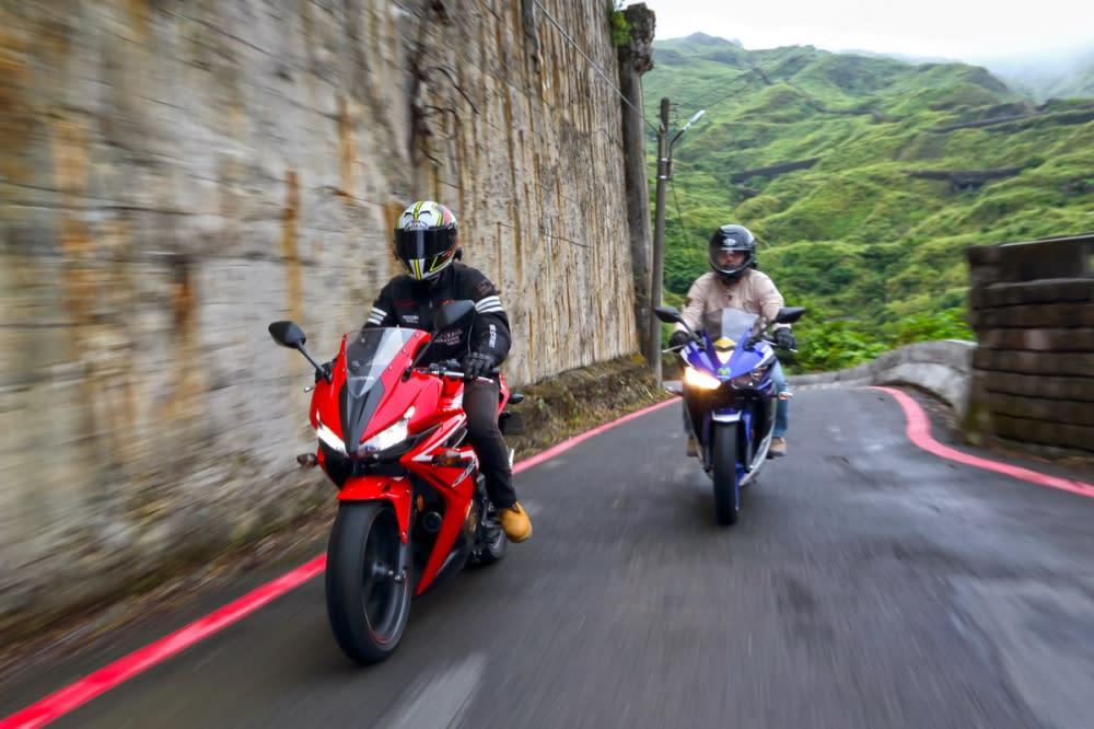 Honda CBR500R與Yamaha R3以其適切身型、合理定價搭配好上手的的特性成為入門重機的絕佳選擇