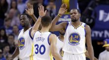 Curry and KD both get 30 for 2nd time as Warriors hold off Blazers
