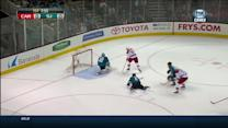 Jiri Tlusty scores on breakaway vs Stalock