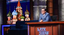 Colbert's shows from Russian are winners for CBS