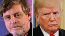 Mark Hamill Taunts Donald Trump With Genius Twitter Tip For His Tired Fingers