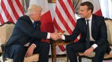 Visite d'Emmanuel Macron à Donald Trump: de quoi parle-t-on lors d'un dîner privé?