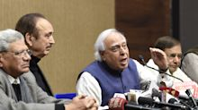 Worried for Cong, will we wake up after horses have bolted from our stables?: Kapil Sibal