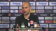 """FUTEBOL: Bundesliga: Bas Dost: """"Espero voltar a marcar gols já em maio"""""""